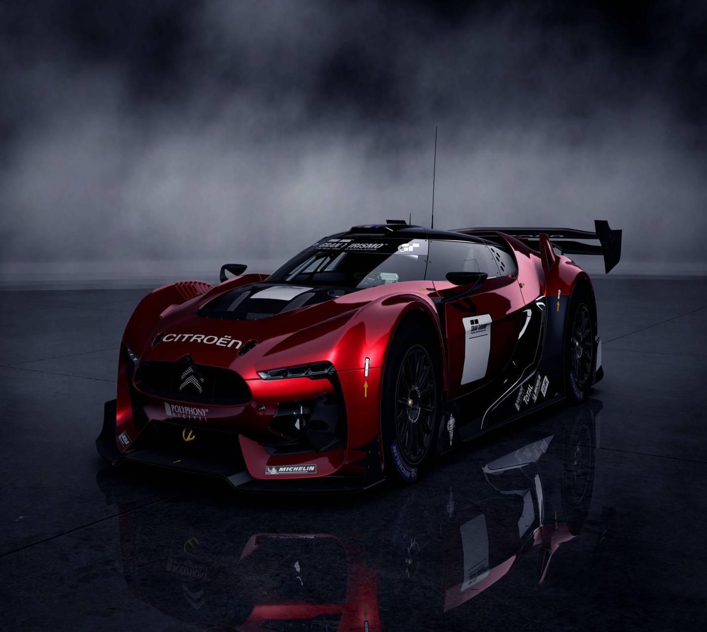 Red Citroen GT Wallpaper By _lovey_