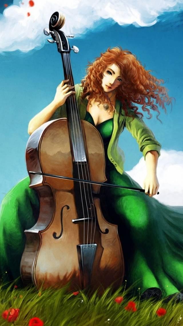 Woman Musician