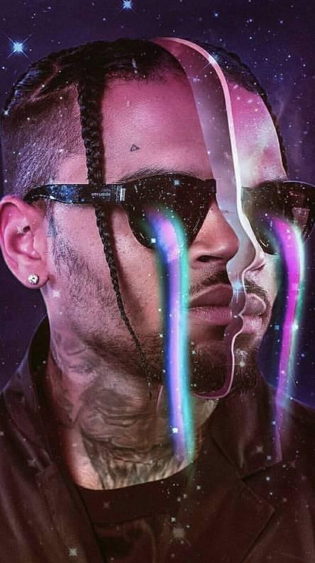 Chris Brown sees it