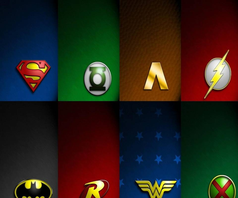 dc superheroes logos wallpaper by timlewisartist 08 free on zedge