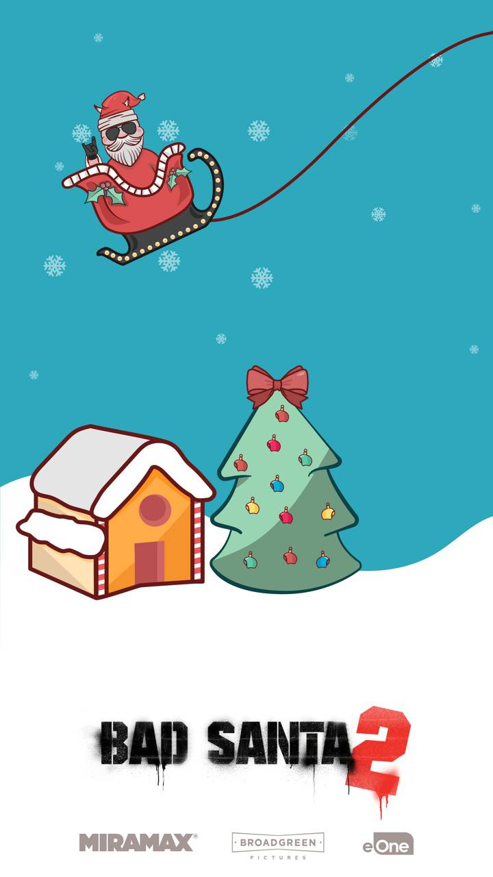 Bad Santa Sleigh