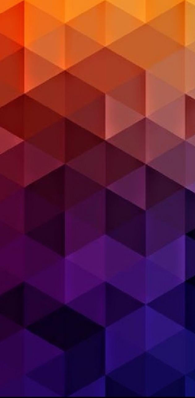 Orange to Purple