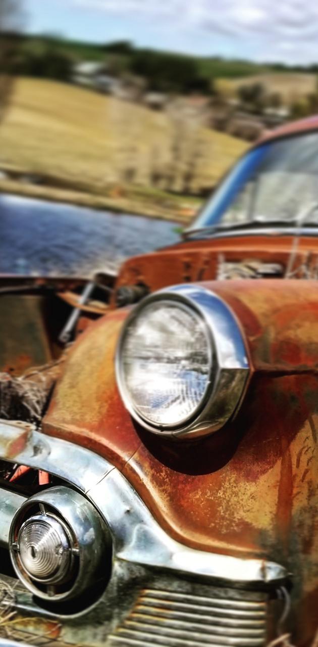 Rusty Farm Car