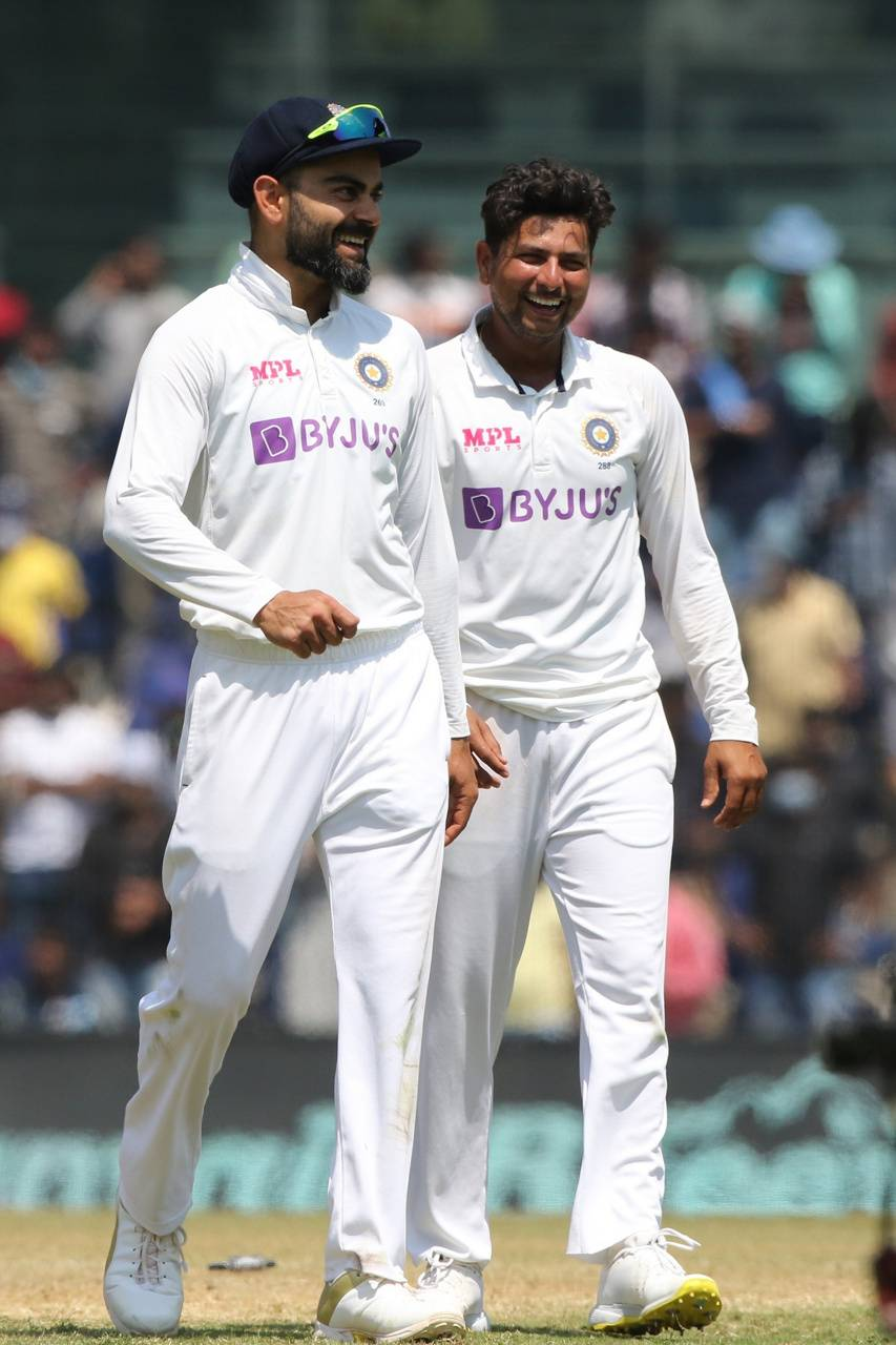 Kohli and Kuldeep