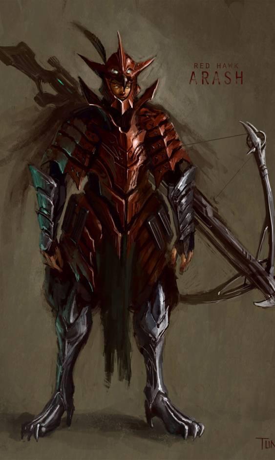 Red Hawk Arash