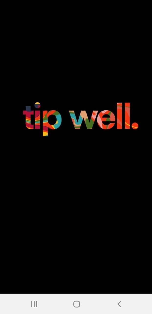 Tip well - black