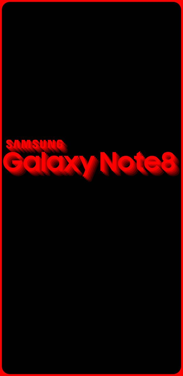 Galaxy Note8 Red