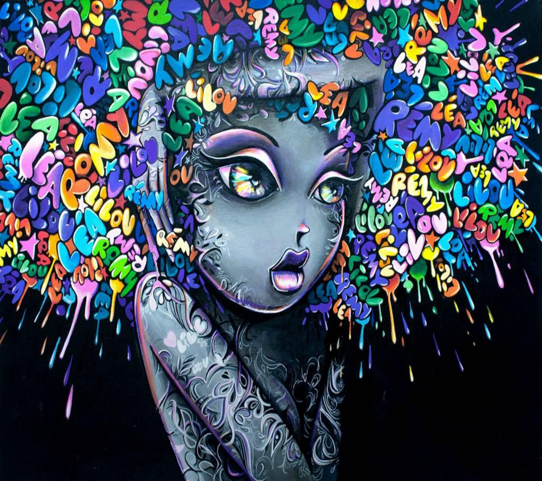 hd graffiti girl