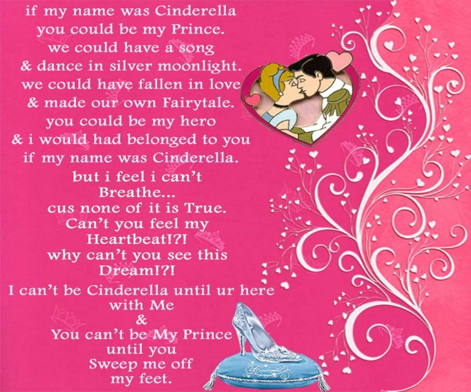 Cinderella Poem