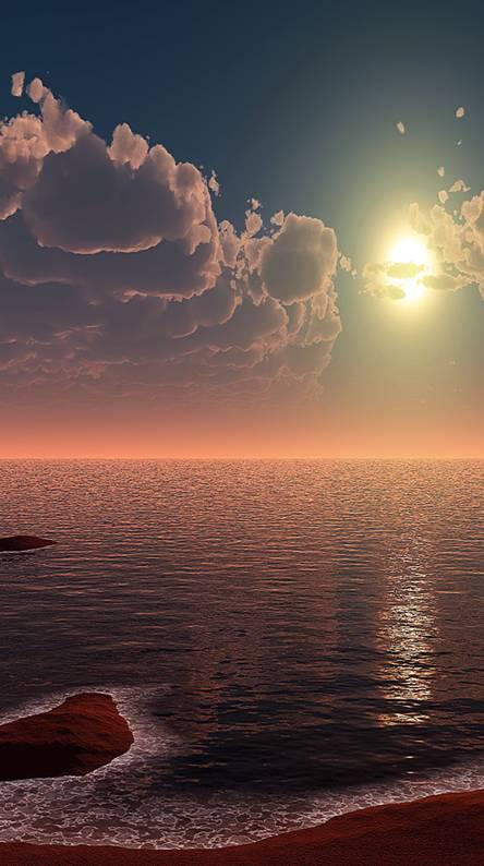 Sandy Sunset