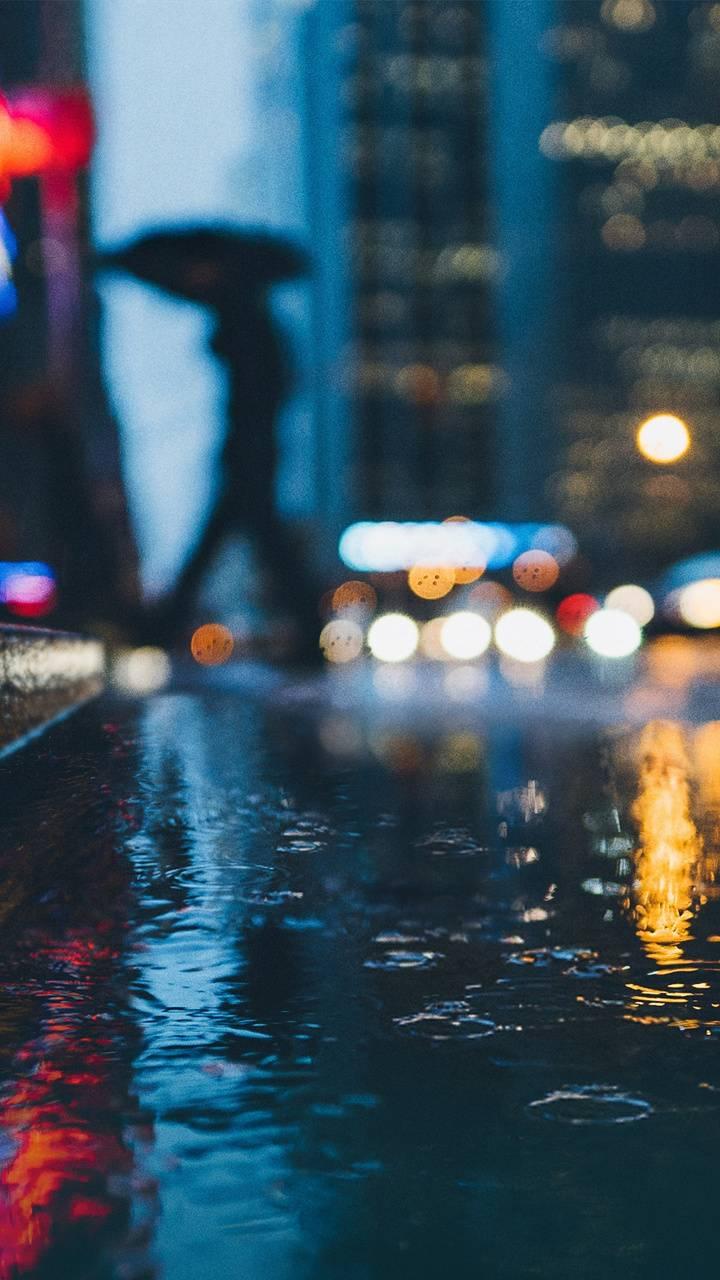 Street rain - Pixel2