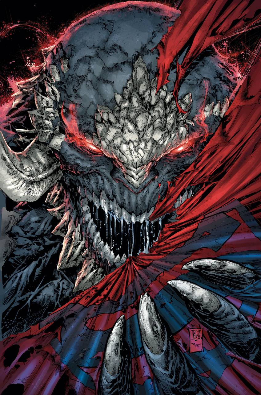 dc comics doomsday art