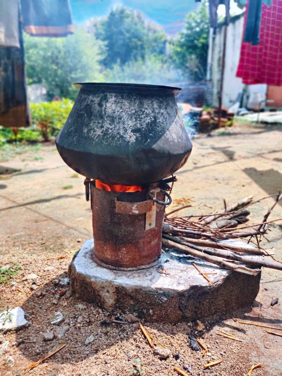 A fire pot