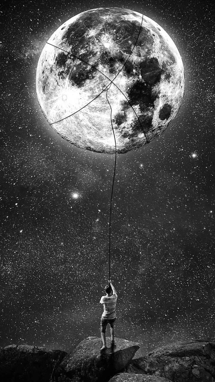 Moon Monochrome