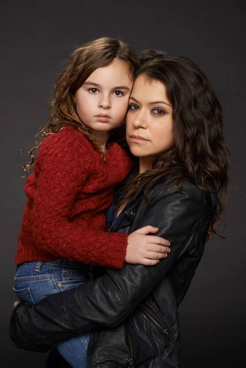 Sarah and Kira