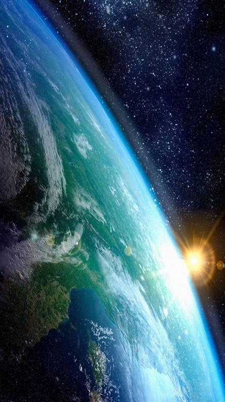 Planet Earth Sun