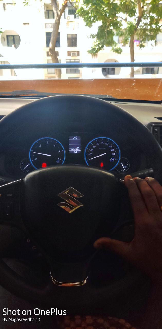 Ciaz steering view