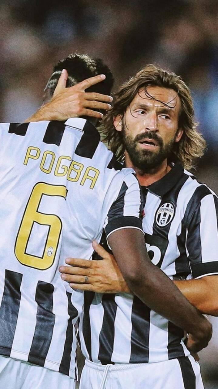 Pogba and Pirlo
