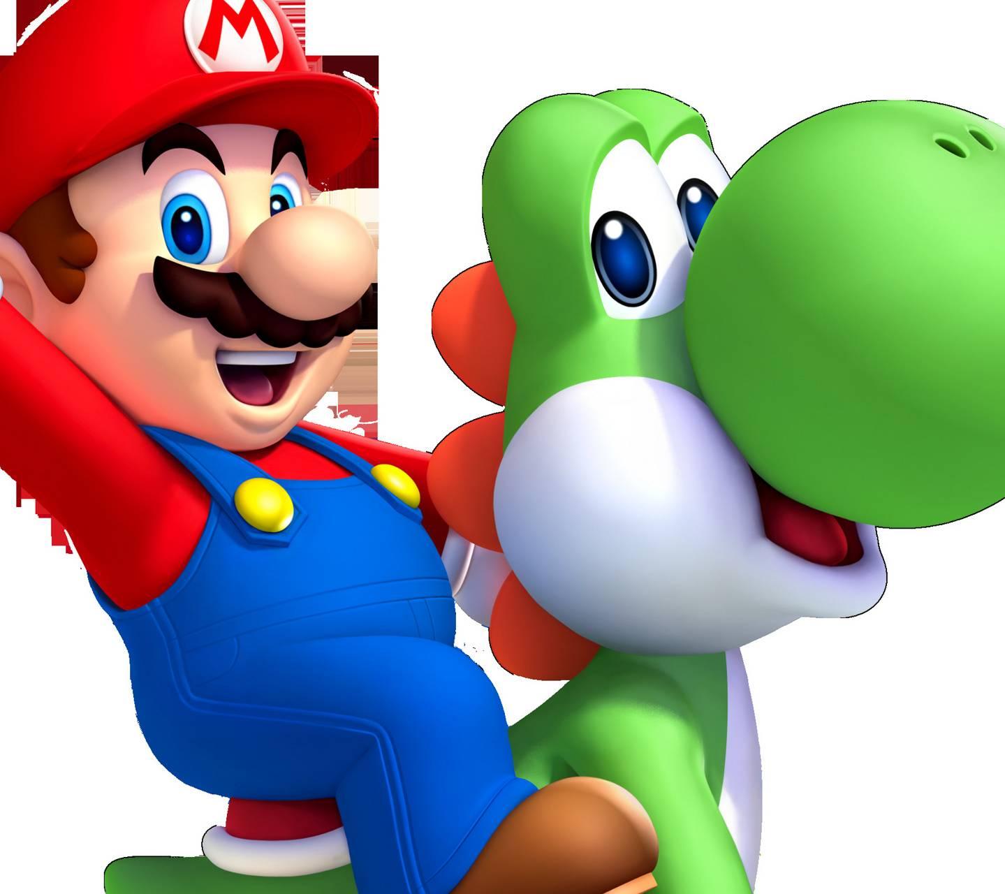 Mario  Yoshi