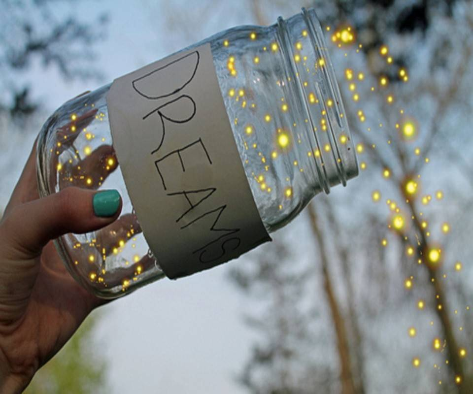 Shiny Dreams Jar