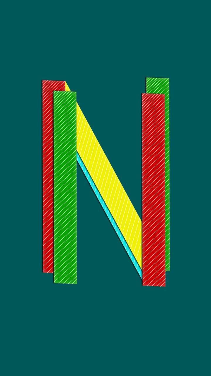 Strips Alphabate N