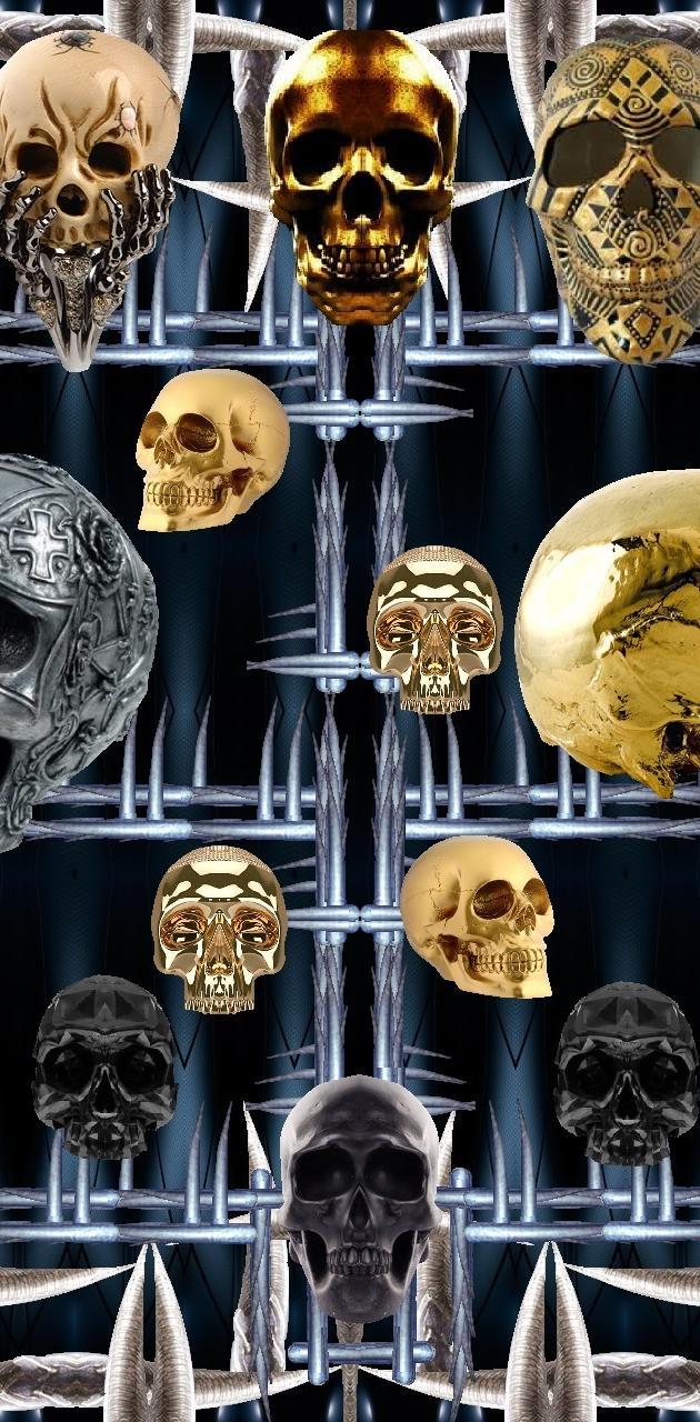 Skulls on Spikes