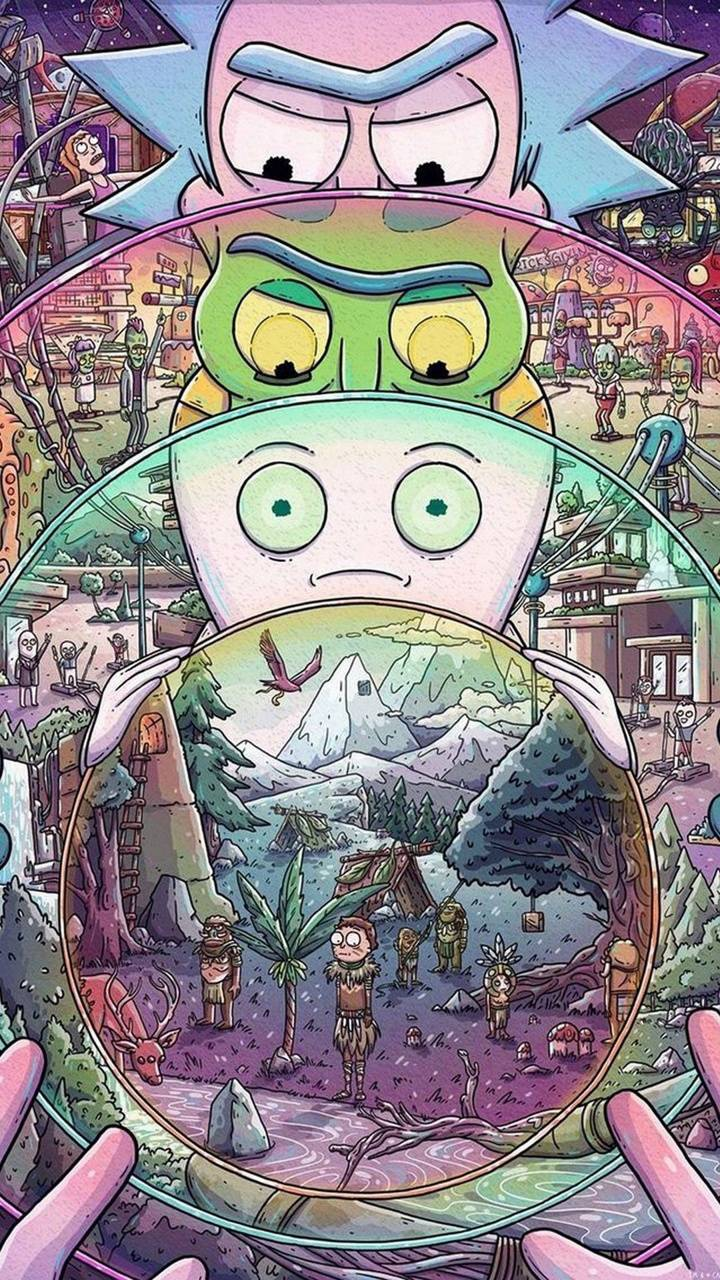 Rick And Morty Wallpaper By Kakashihatake1990 36 Free On Zedge
