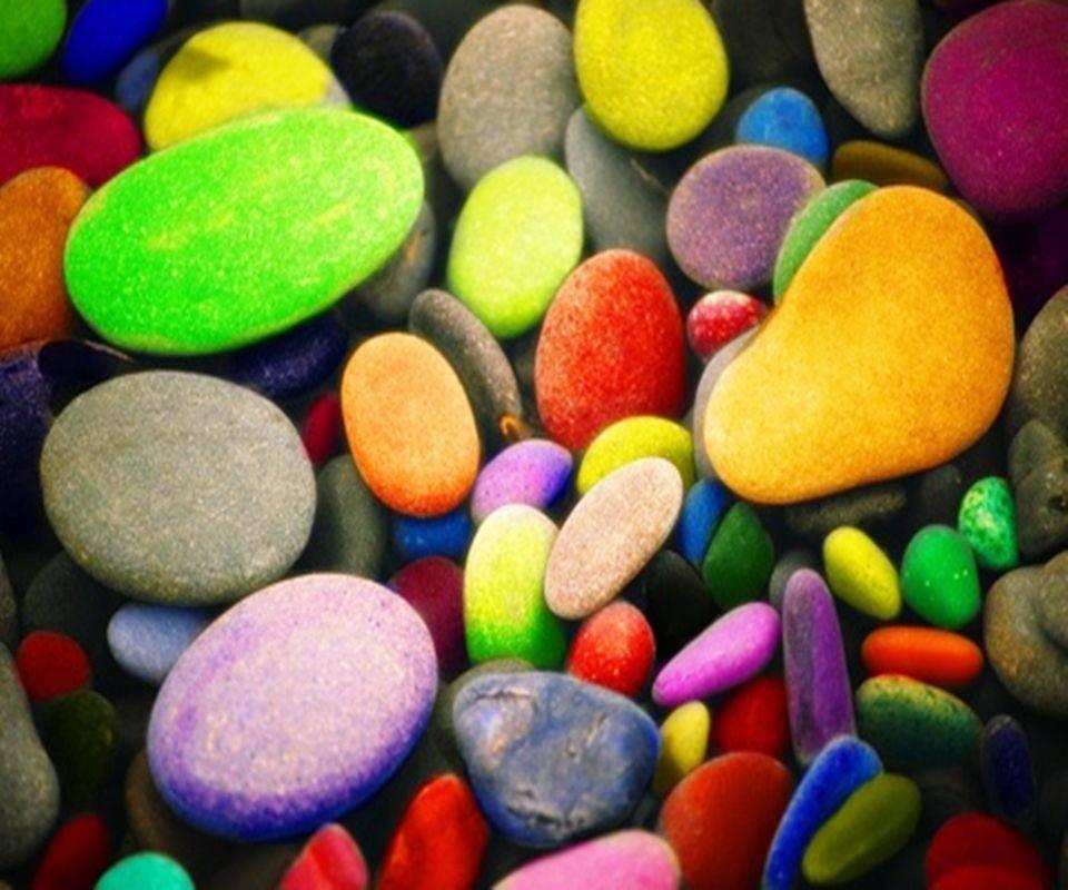 Colourful Pebbles