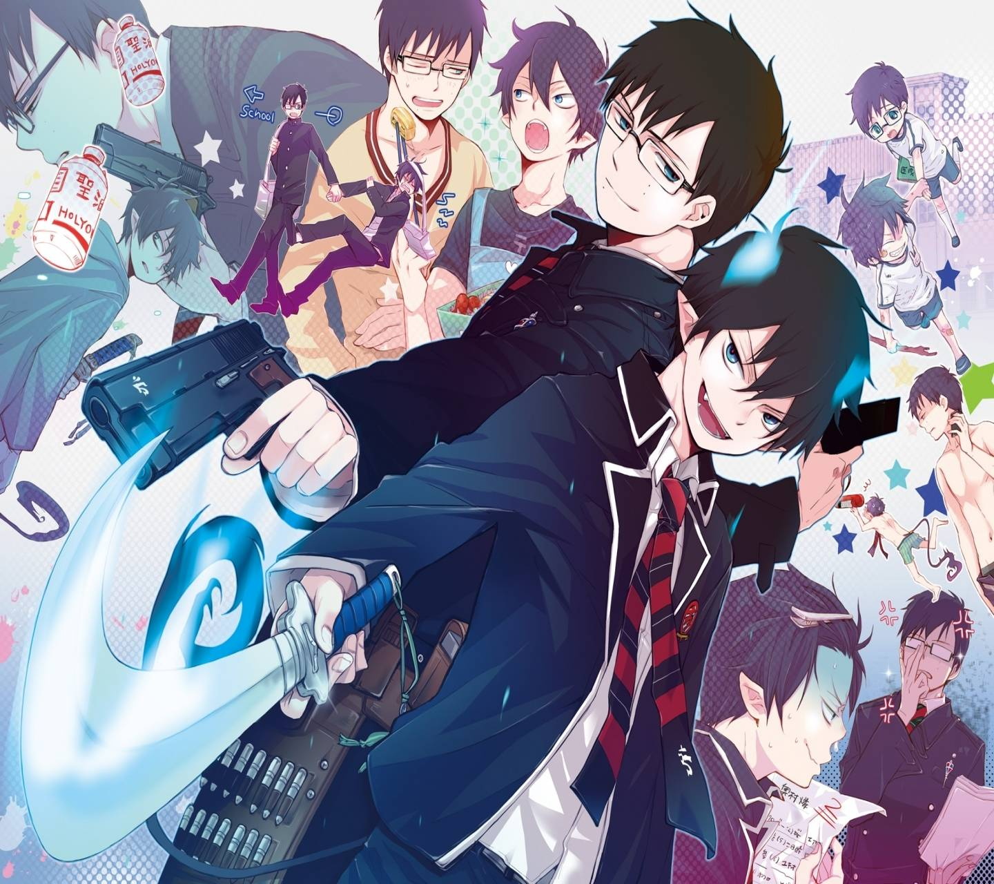 Ao No Exorcist Wallpaper By Okamii63 F3 Free On Zedge