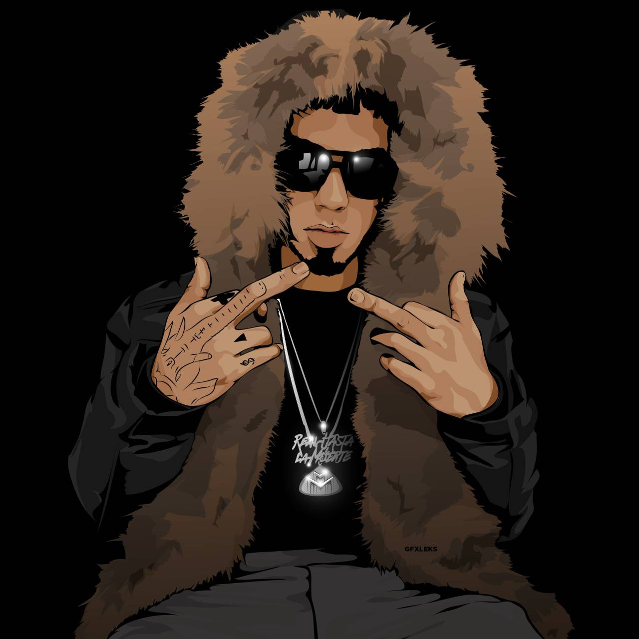 Anuel Aa Wallpaper By Kiddjeff 44 Free On Zedge