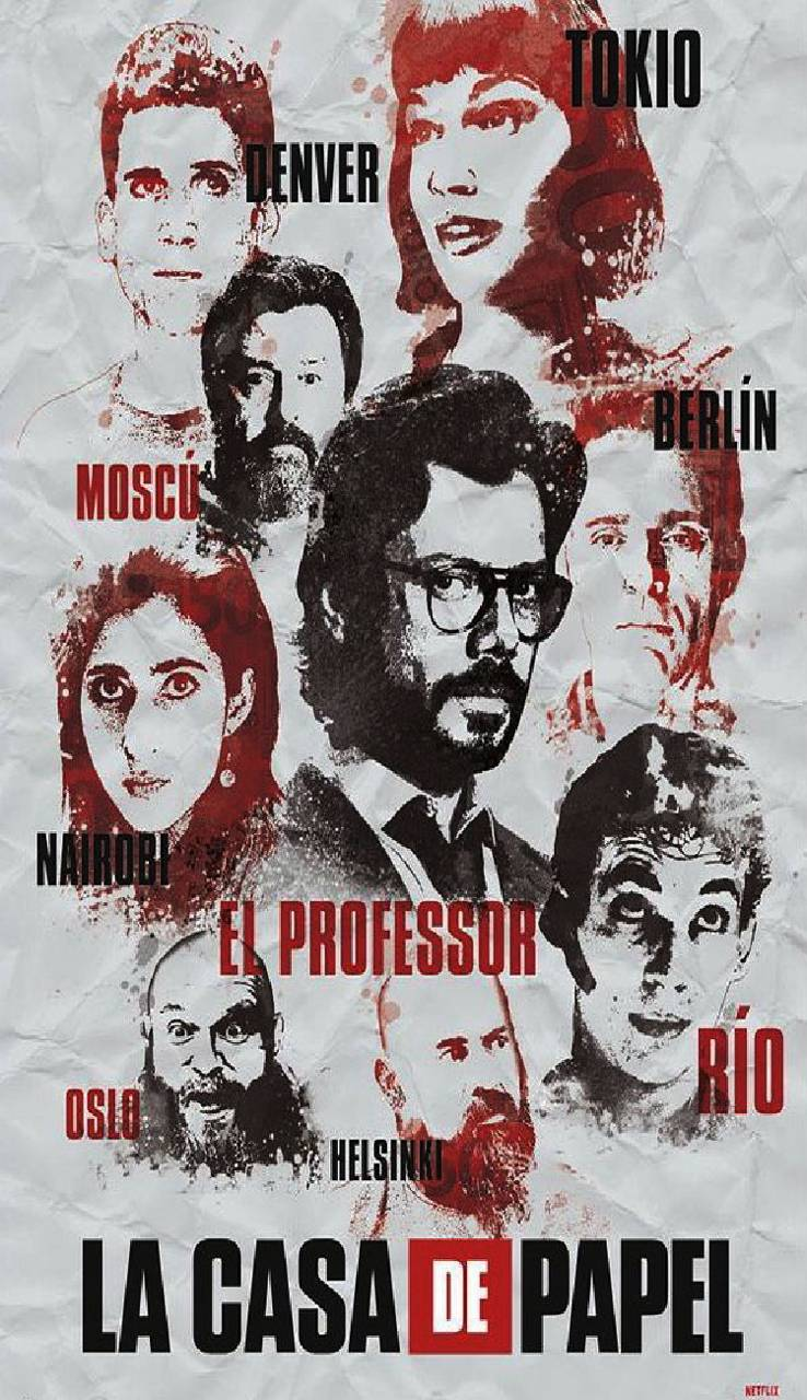 La Casa De Papel Wallpaper By Biagio Drago 8d Free On Zedge