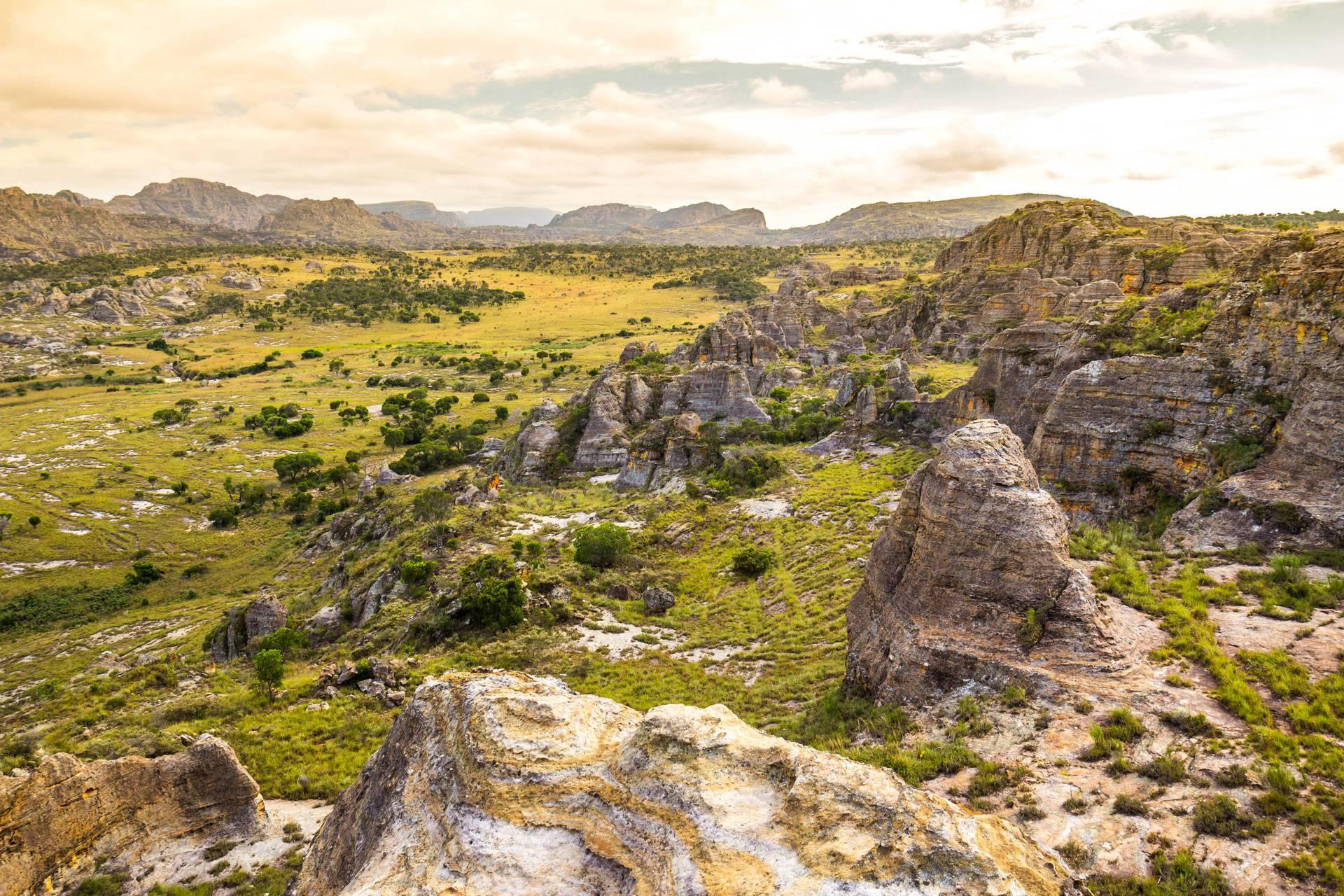 rocks valley