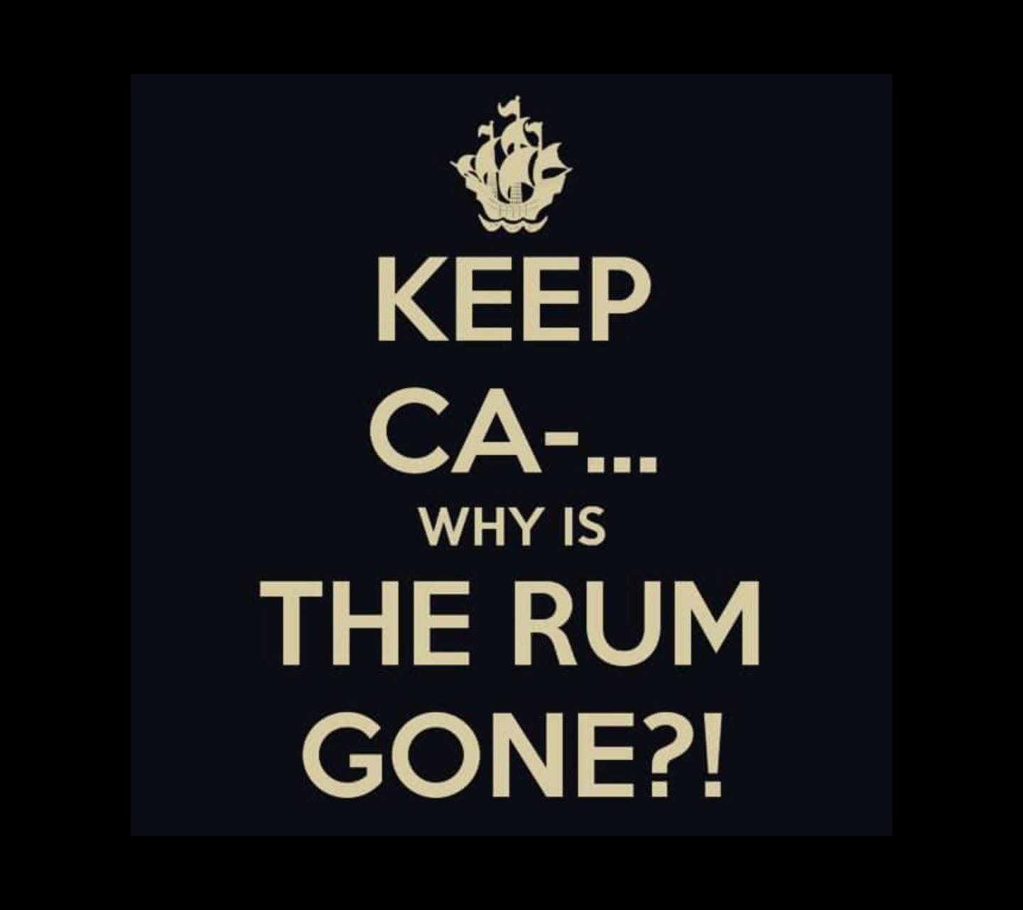 Whys The Rum Gone