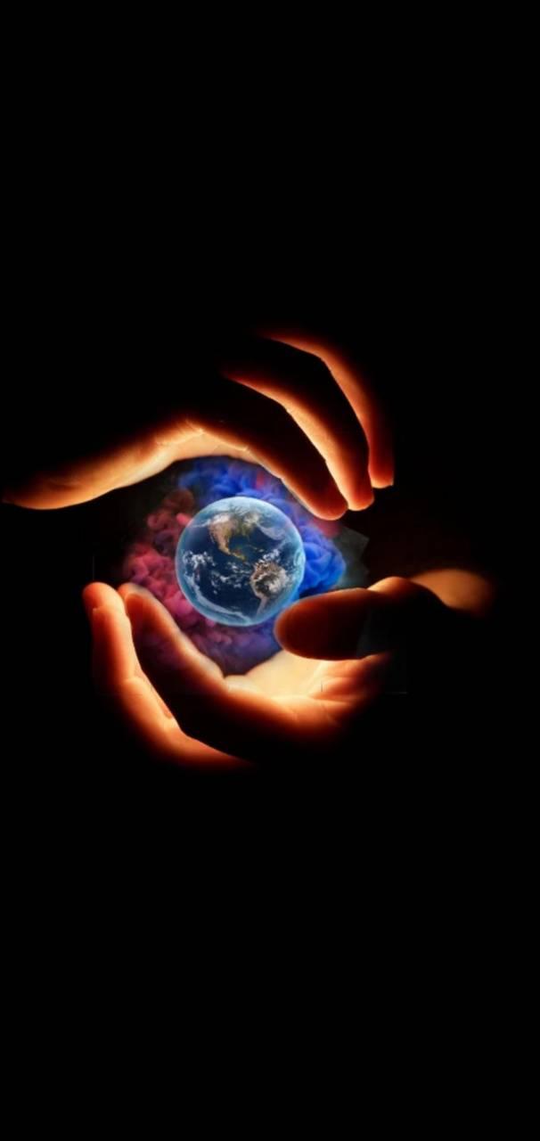 earth hand