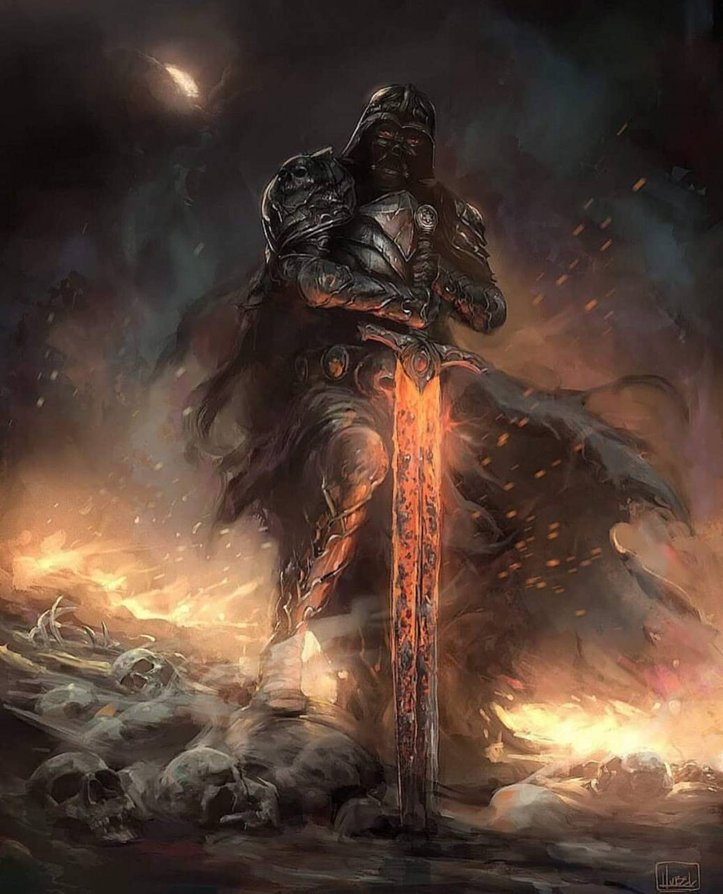 Medieval Vader