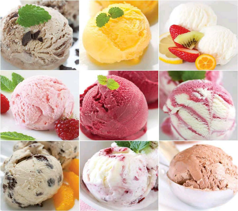 Ice cream All flavor