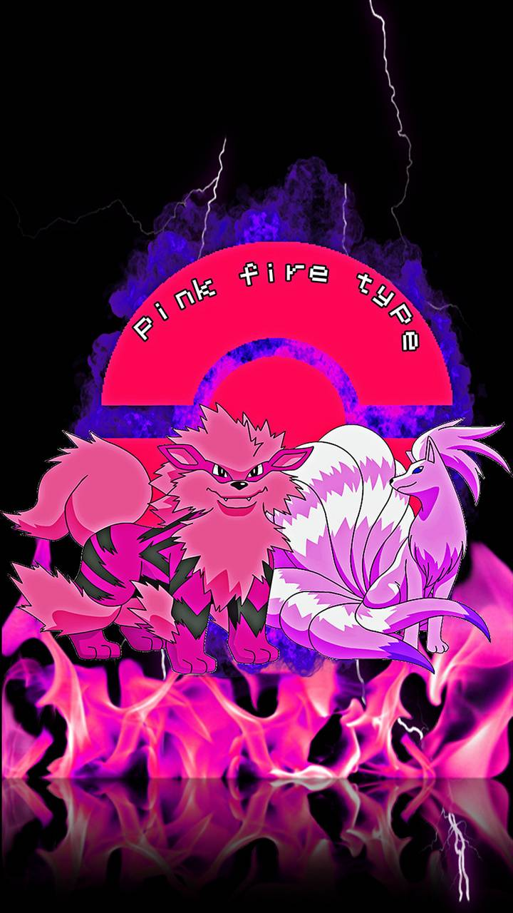 pink fire pokemon