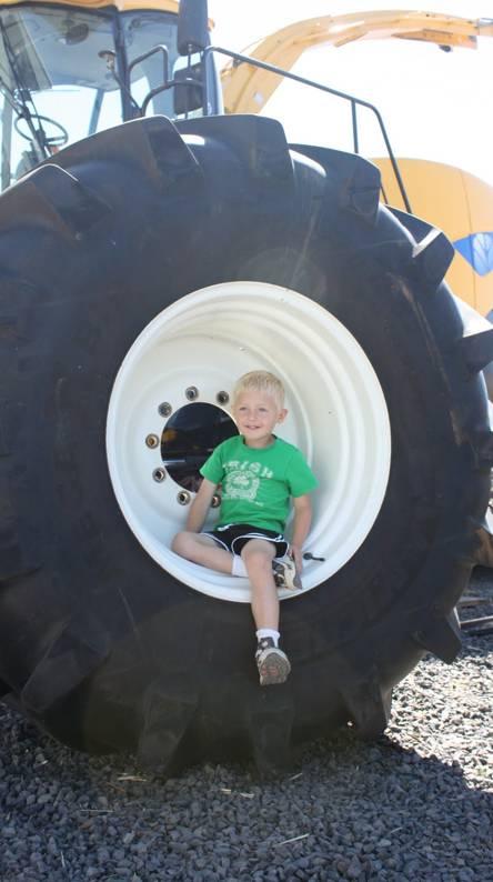 Baby In Tyre