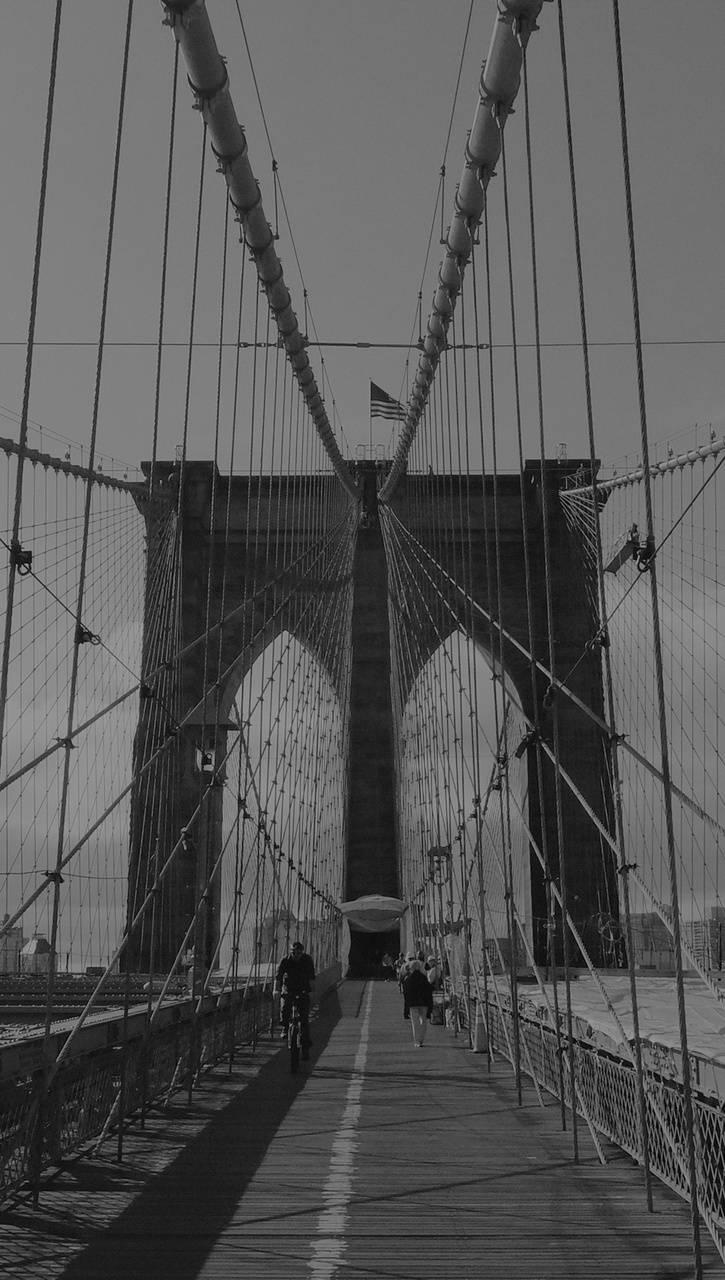 bridge-dark river