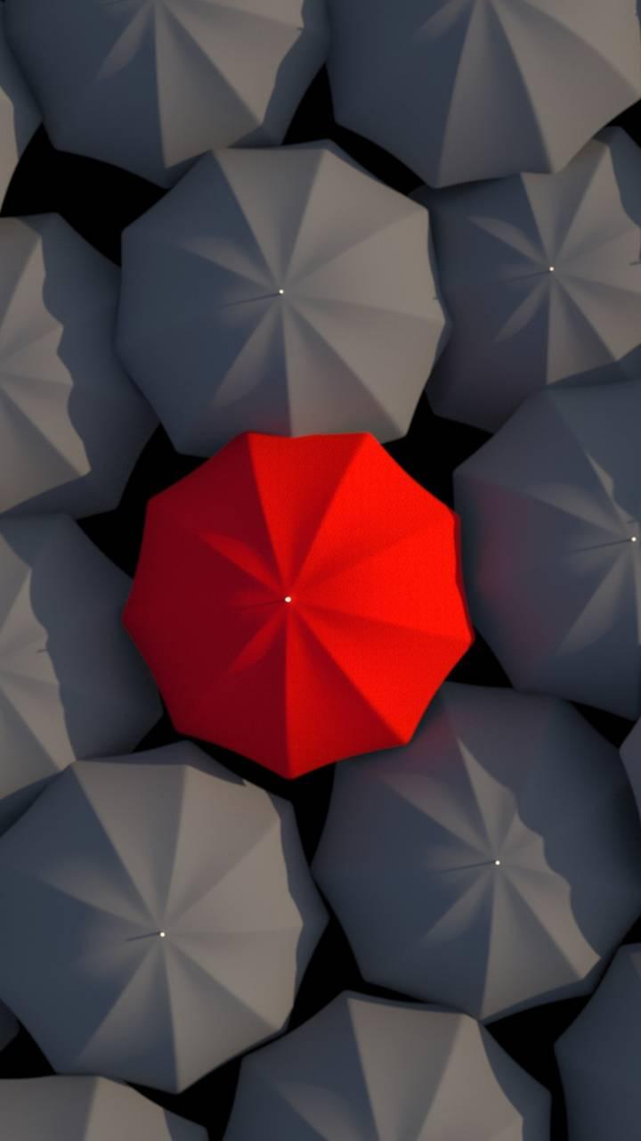 Red Umbrella Wallpaper By Georgekev
