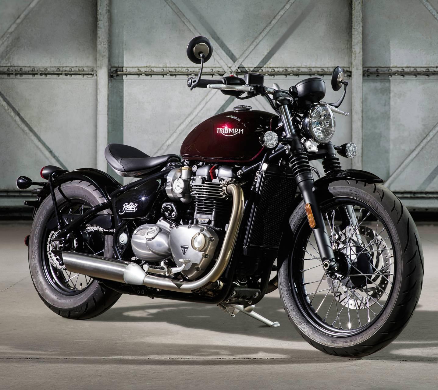 Triumph Motorcycle Wallpaper: Bonneville Bobber Wallpaper By Junin__RX