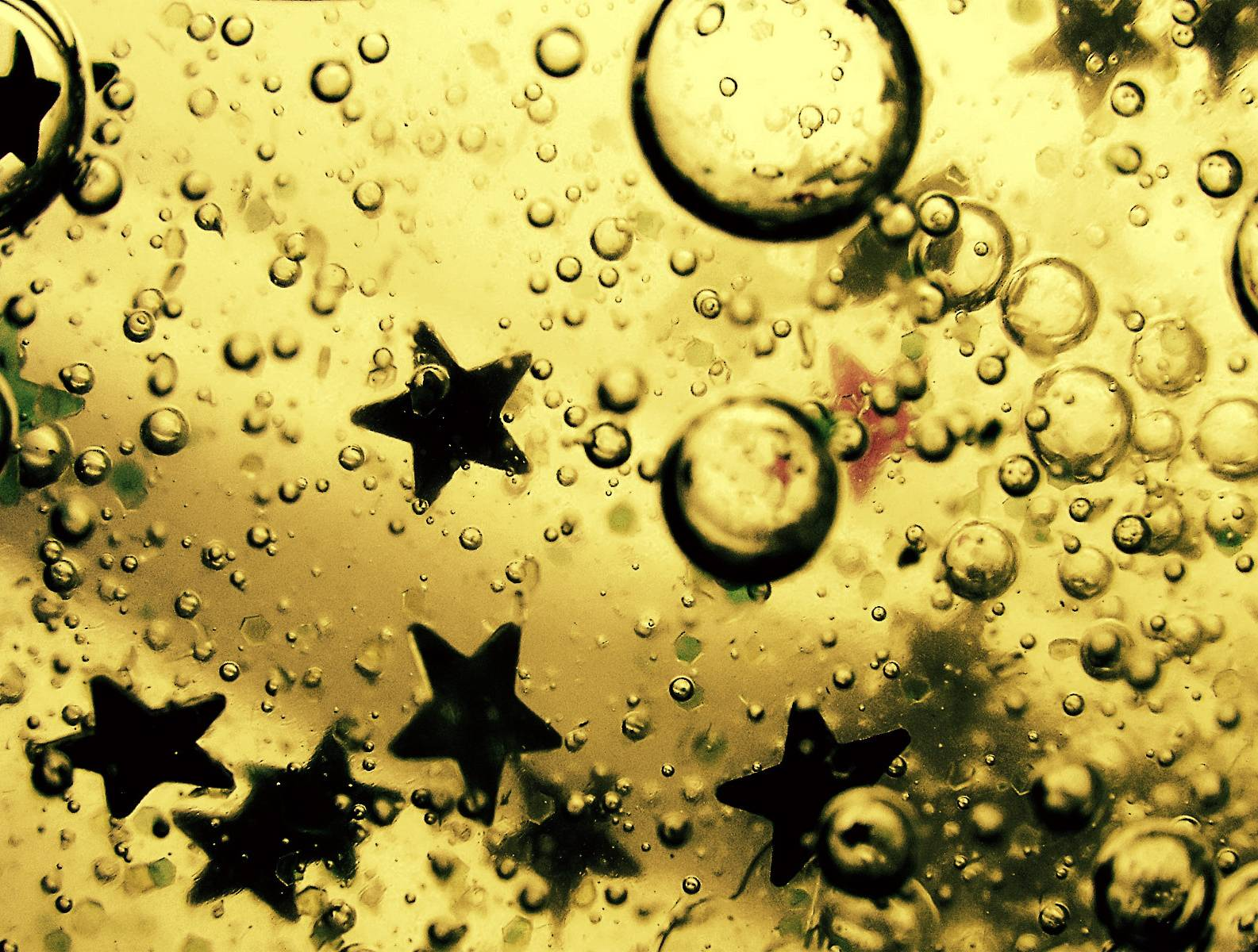 Oil Stars And Water
