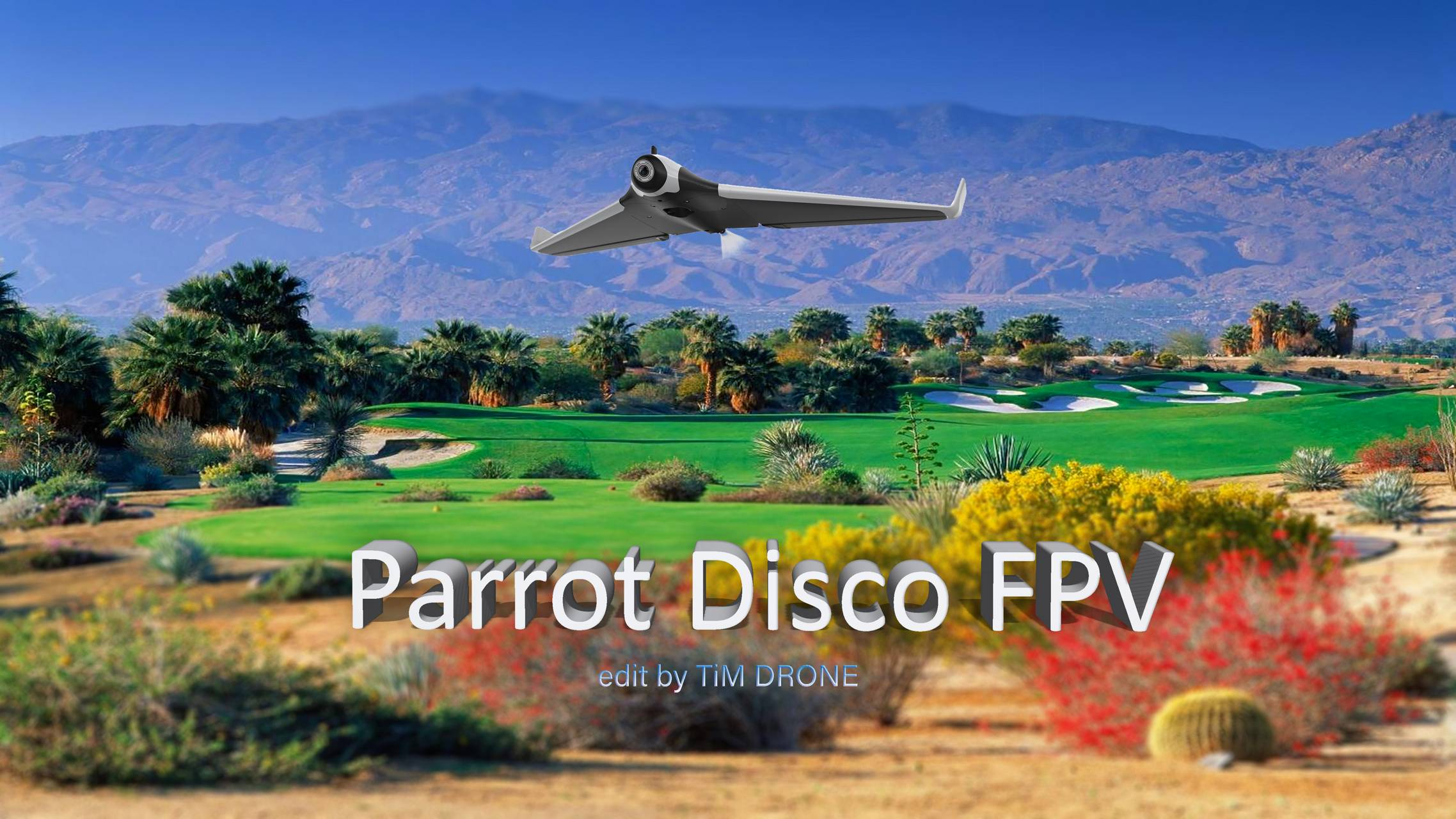 PARROT DISCO FPV