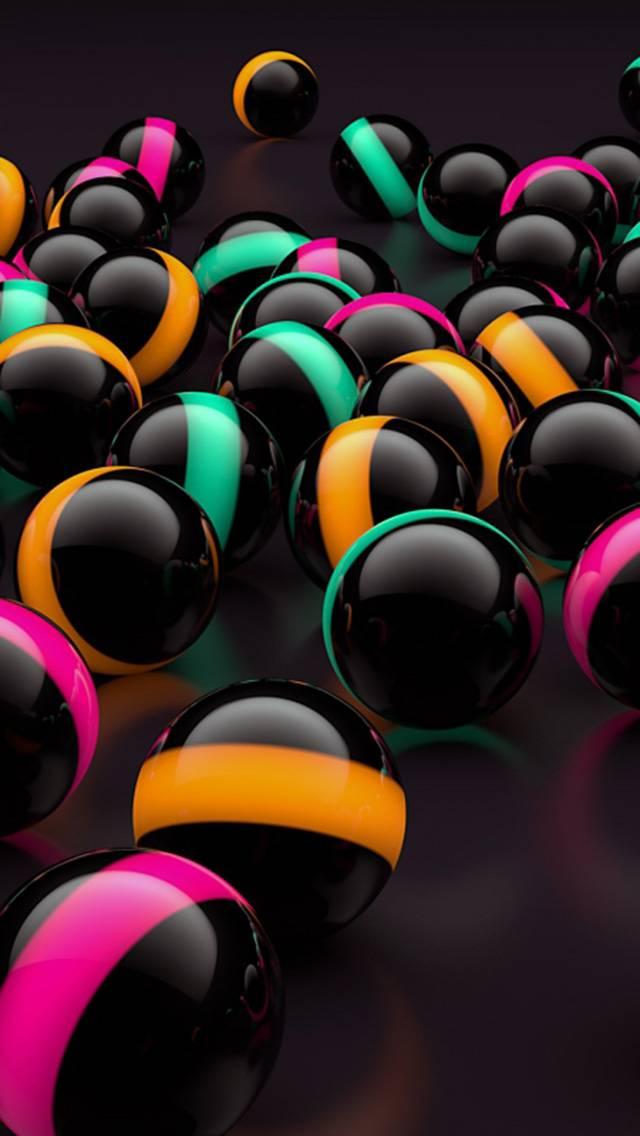 Random Balls 3D