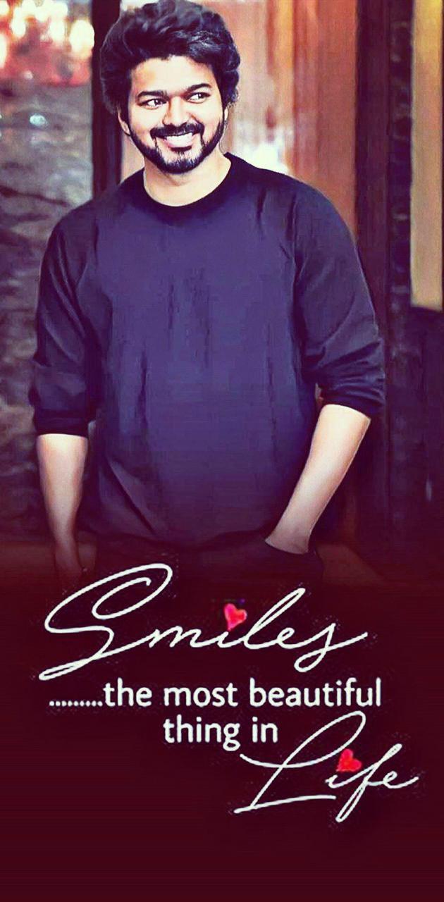 Thalapathy smile