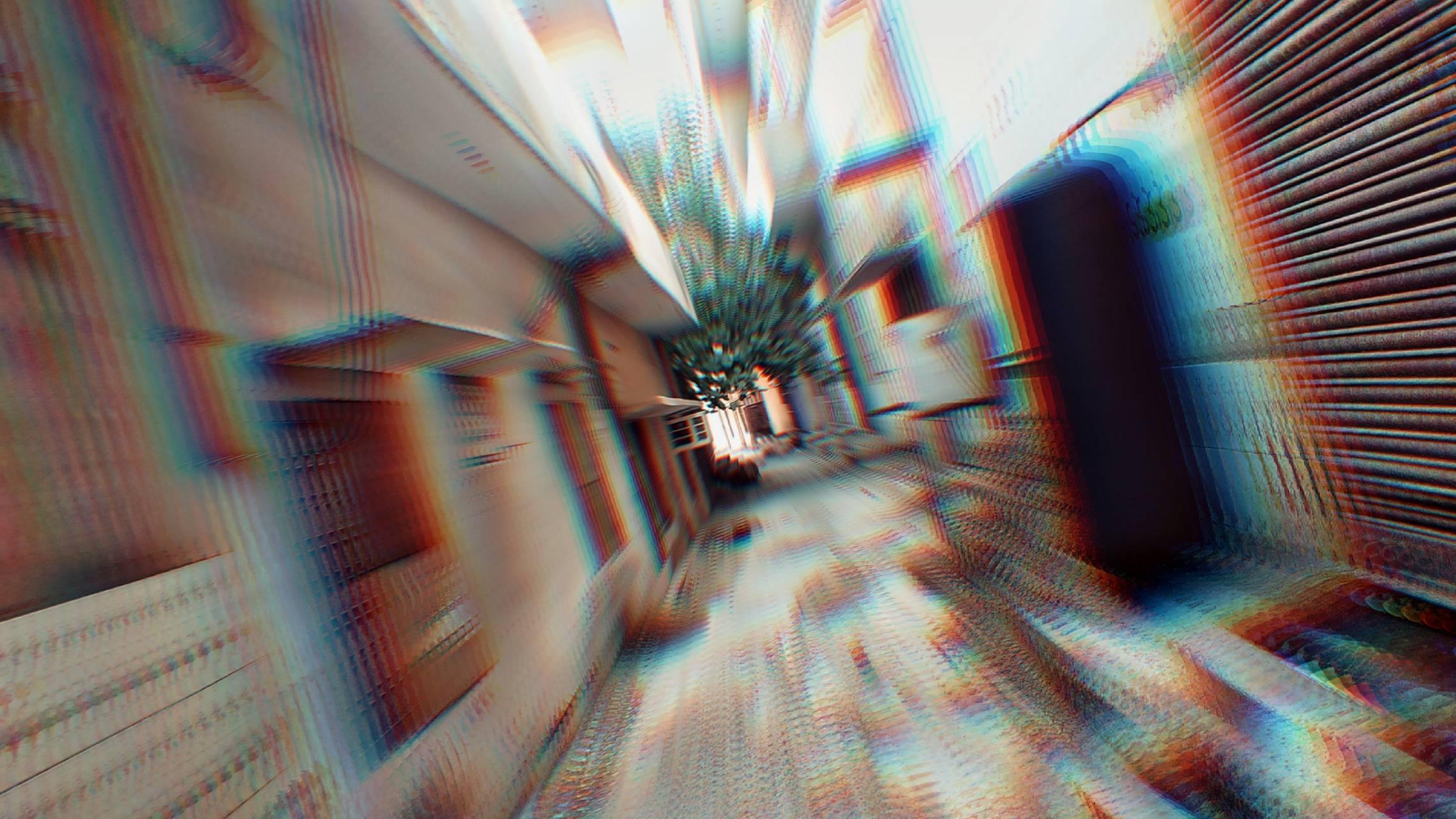 Trippy street