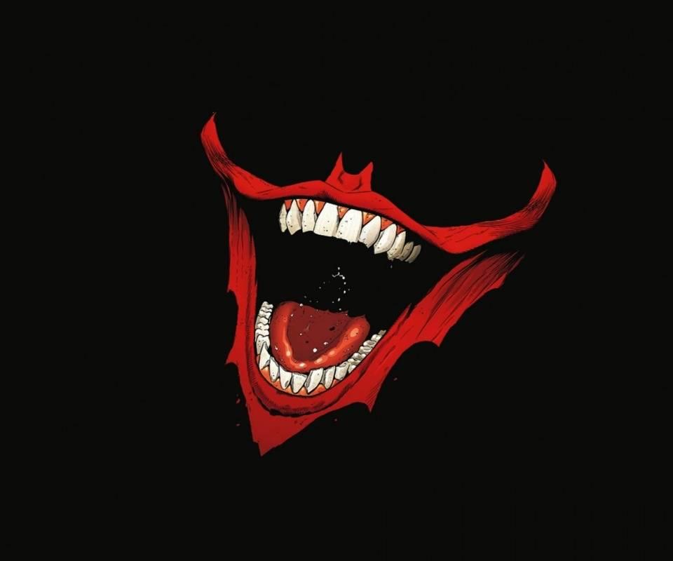 Joker Laughing smile