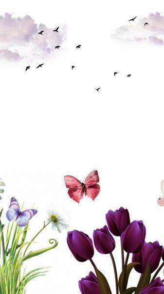 Flower scene