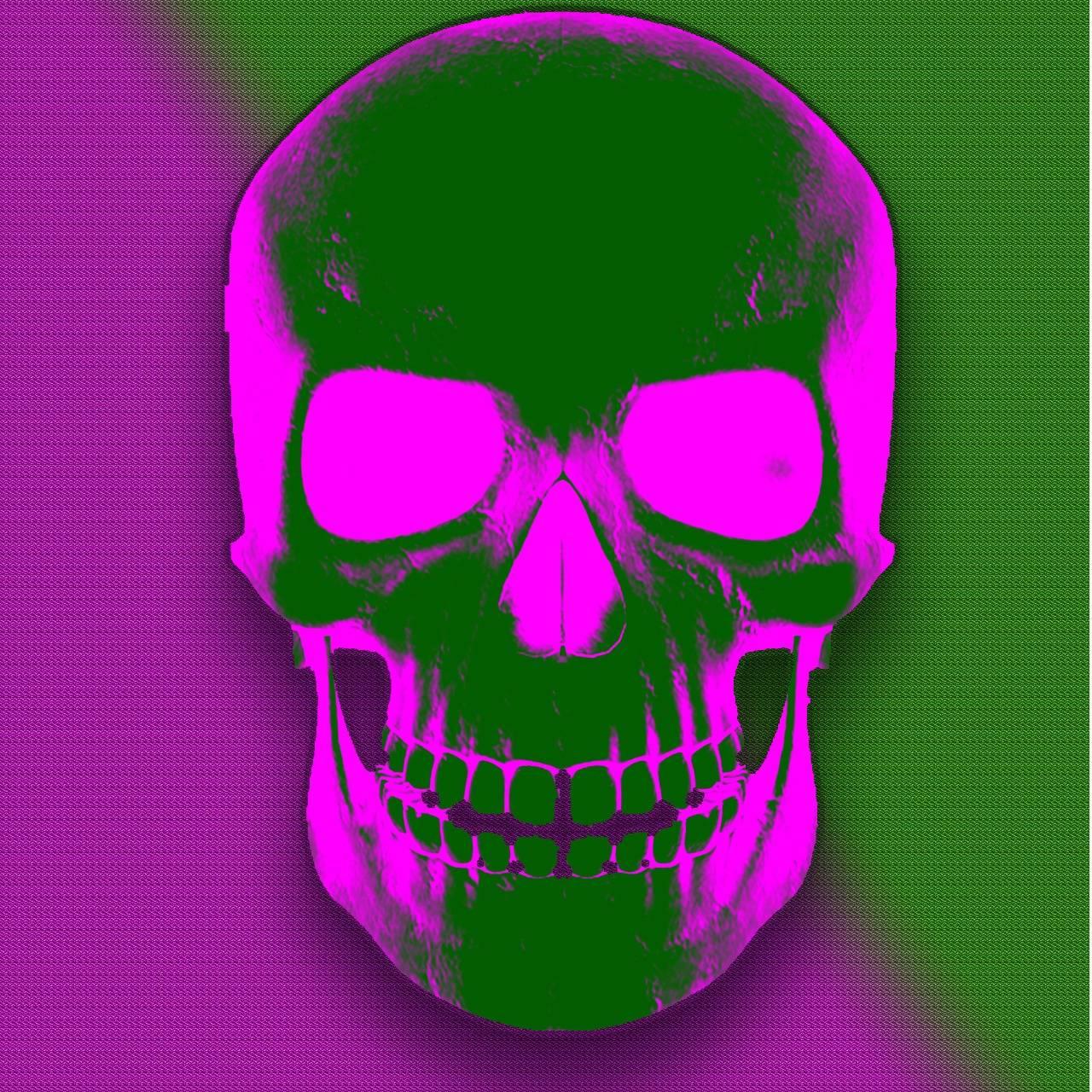 Skull contrast