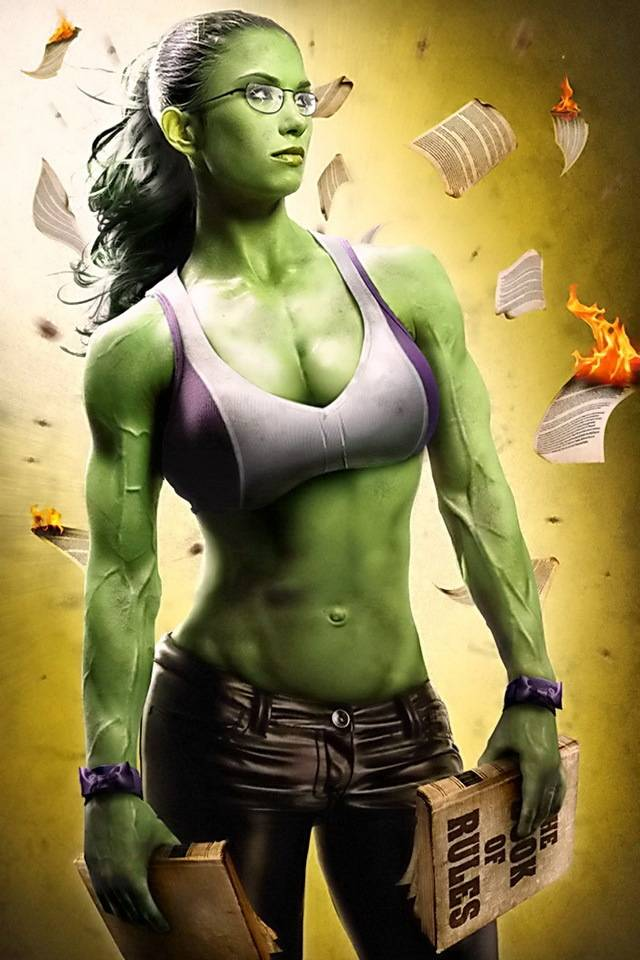 Hulk Girl Wallpaper By Ishanayar B9 Free On Zedge